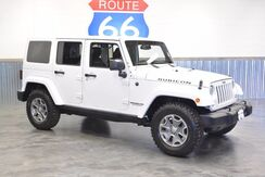 2015_Jeep_Wrangler Unlimited_RUBICON LEATHER 4WD NAV! HARD TOP 1 OWNER_ Norman OK