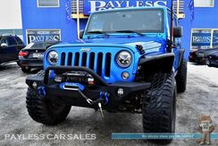 2015_Jeep_Wrangler Unlimited_Rubicon / 4X4 / Automatic / Heated Seats / Auto Start / JKS LIFT KIT / FOX SHOCKS / WARN Front & Rear Bumpers / Aftermarket Flares / PRO COMP RIMS & 35 TIRES / Winch / Bluetooth / Tow Pkg / 1-Owner_ Anchorage AK