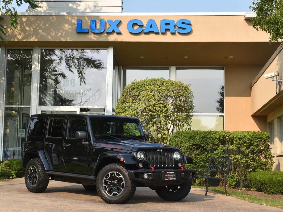 2015_Jeep_Wrangler Unlimited_Rubicon Hard Rock Hard & Soft Top Nav Leather 4WD_ Buffalo Grove IL