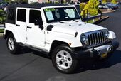 2015 Jeep Wrangler Unlimited Sahara 6-Speed
