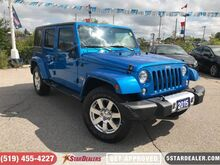 2015_Jeep_Wrangler Unlimited_Sahara   NAV   HEATED SEATS_ London ON