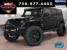 2015_Jeep_Wrangler Unlimited_Sahara Tasteful Upgrades LED's! Wheels! Lift Kit!_ Bridgeview IL