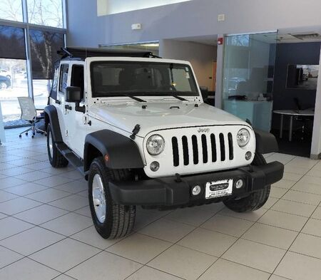 Jeep Wrangler Unlimited Sport 4X4 2015