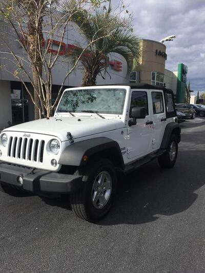 2015_Jeep_Wrangler Unlimited_Sport_ Charleston SC