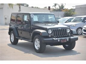 Jeep Wrangler Unlimited Unlimited Sport S SUV 4D 2015