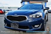 2015 Kia Cadenza Premium / Power & Heated Leather Seats / Navigation / Infinity Speakers / Bluetooth / Back Up Camera / Push Button Start / 28 MPG/ Low Miles / 1-Owner