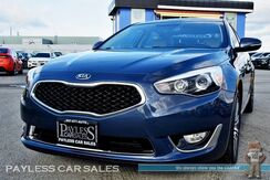 2015_Kia_Cadenza_Premium / Power & Heated Leather Seats / Navigation / Infinity Speakers / Bluetooth / Back Up Camera / Push Button Start / 28 MPG/ Low Miles / 1-Owner_ Anchorage AK