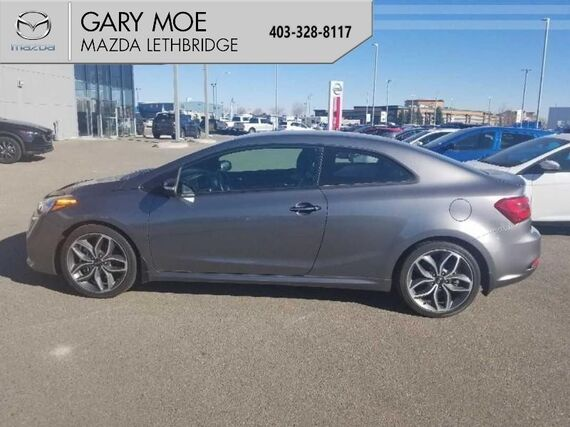 2015_Kia_Forte Koup_SX  -  Ultra low mileage, Back up camera_ Lethbridge AB