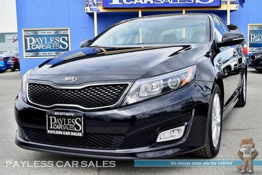 2015 Kia Optima EX / Automatic / Power Leather Seat / Push Button Start / Bluetooth / Cruise Control / Only 33K Miles / 34 MPG / 1-Owner Anchorage AK