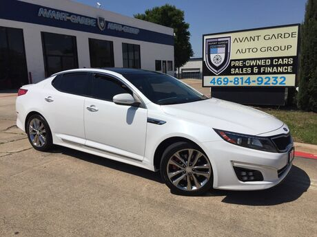 2015 Kia Optima SXL Turbo NAVIGATION REAR VIEW CAMERA, PANORAMIC ROOF, LANE CHANGE WARNING, HEATED AND COOLED SEATS, SENSORS!!! EVERY OPTION!!! ONE OWNER!!! Plano TX