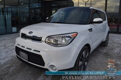 2015_Kia_Soul_! / Auto Start / Heated & Cooled Leather Seats / Heated Steering Wheel / Rear Heated Seats / Navigation / Panoramic Sunroof / Infinity Speakers / HID Headlights / Bluetooth / Back Up Camera / Low Miles / 31 MPG_ Anchorage AK