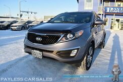 2015_Kia_Sportage_EX / Premium Pkg / AWD / Heated & Cooled Leather Seats / Panoramic Sunroof / Navigation / Infinity Speakers / Bluetooth / Back Up Camera / Keyless Entry & Start / LED Headlights / Tow Pkg / Low Miles / 1-Owner_ Anchorage AK