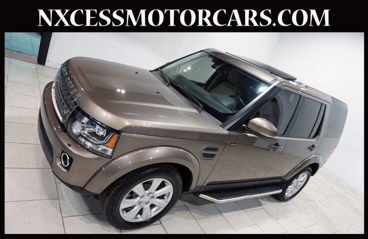 2015 Land Rover LR4 HSE ROOF/WINTER PKG NAVIGATION MERIDIAN AUDIO 1-OWNER. Houston TX