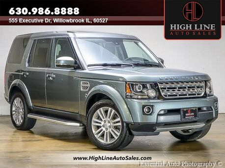 2015_Land Rover_LR4_LUX_ Willowbrook IL