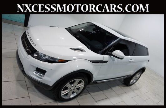 2015 Land Rover Range Rover Evoque Pure Plus PANO-ROOF BACK-UP CAM MERIDIAN AUDIO 1-OWNER. Houston TX
