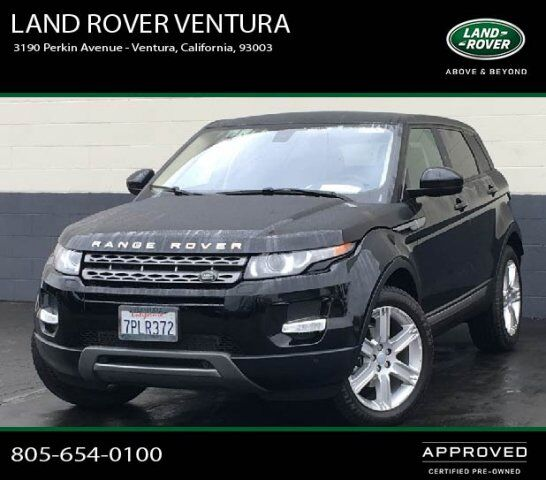 2015 Land Rover Range Rover Sport Supercharged Ventura Ca: 2015 Land Rover Range Rover Evoque Pure Plus Ventura CA