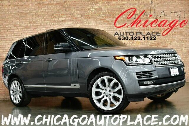 2015 Land Rover Range Rover L Supercharged LWB - 5.0L SUPERCHARGED V8 ENGINE 4WD NAVIGATION PARKING CAMERAS PANO ROOF FRONT MASSAGE SEATS KEYLESS GO QUAD ZONE CLIMATE Bensenville IL