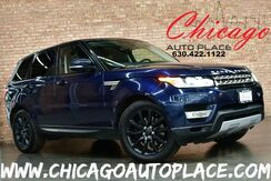 2015_Land Rover_Range Rover Sport_HSE - 3.0L V6 SUPERCHARGED ENGINE 4 WHEEL DRIVE NAVIGATION BACKUP CAMERA KEYLESS GO PANO ROOF BLACK LEATHER HEATED/COOLED SEATS XENONS_ Bensenville IL