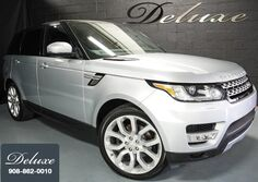 Land Rover Range Rover Sport HSE 4WD, Navigation System, Rear-View Camera, Meridian Premium Sound, Bluetooth Streaming Audio, Ventilated Leather Seats, Panorama Sunroof, 21-Inch Alloy Wheels, 2015