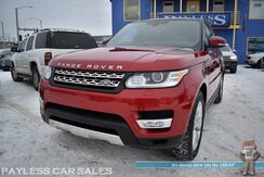 2015_Land Rover_Range Rover Sport_HSE / 4X4 / Supercharged / Heated & Cooled Leather Seats / Heated Steering Wheel / Panoramic Sunroof / Meridian Speakers / Navigation / Blind Spot / Power 3rd Row / Tow Pkg_ Anchorage AK