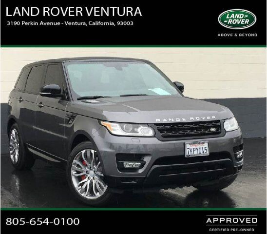 2018 Range Rover Supercharged: 2015 Land Rover Range Rover Sport Supercharged Ventura CA