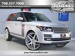 2015 Land Rover Range Rover Supercharged 2 Owner Pano Power Boards 26 Wheels Loaded