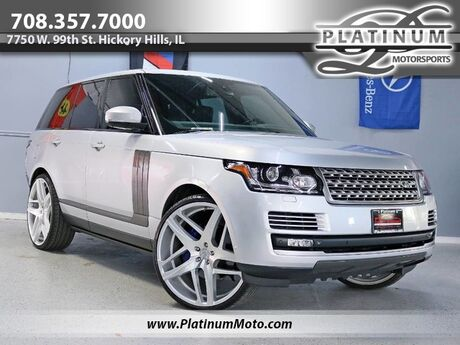2015 Land Rover Range Rover Supercharged 2 Owner Pano Power Boards 26 Wheels Loaded Hickory Hills IL