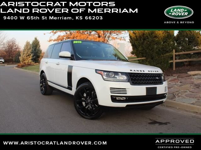 2015 land rover range rover supercharged merriam ks 21397467 for Aristocrat motors mercedes benz