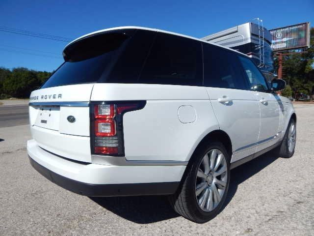 2015 Land Rover Range Rover Supercharged Austin Tx 21021983