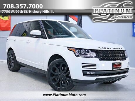 2015 Land Rover Range Rover V8 SC 3 Owner Pano Roof Nav Black Piano Wood Serviced Loaded Hickory Hills IL