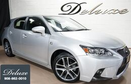 Lexus CT 200h Hybrid, F Sport Package, Navigation System, Rear-View Camera, Bluetooth Streaming Audio, Heated Leather Seats, Power Sunroof, 17-Inch F Sport Alloy Wheels, 2015