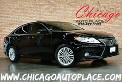 2015_Lexus_ES 350_3.5L V6 VVT-I ENGINE FRONT WHEEL DRIVE NAVIGATION BACKUP CAMERA HEATED/COOLED SEATS BLACK LEATHER KEYLESS GO SUNROOF XENONS_ Bensenville IL