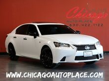 2015_Lexus_GS 350_Crafted Line - F-SPORT 3.5L V6 ENGINE ALL WHEEL DRIVE NAVIGATION BACKUP CAMERA BLACK/RED LEATHER HEATED/COOLED SEATS KEYLESS GO BLUETOOTH CONNECTIVITY_ Bensenville IL