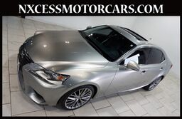 Lexus IS 250 AUTOMATIC XENON ROOF BACK-UP CAM 1-OWNER. 2015