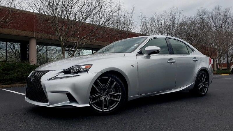 2015 Lexus IS 250 F-SPORT / RWD / NAV / SUNROOF / CAMERA / BSM Charlotte NC