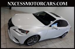 Lexus IS 250 PREMIUM PKG NAVIGATION VENTILATED SEATS CLEAN CARFAX. 2015