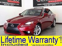 Lexus IS 250 SUNROOF LEATHER SEATS REAR CAMERA BLUETOOTH KEYLESS START KEYLESS ENTRY 2015