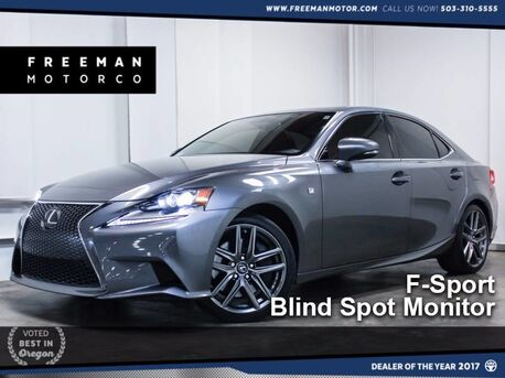 2015_Lexus_IS 350_F-Sport Blind Spot Monitor Nav_ Portland OR