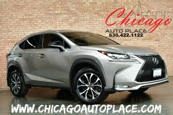2015_Lexus_NX 200t_F Sport - ALL WHEEL DRIVE RED LEATHER HEATED SPORT SEATS NAVIGATION SYSTEM BACKUP CAMERA SUNROOF LED HEADLIGHTS BLUETOOTH_ Bensenville IL