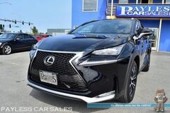 2015_Lexus_NX 200t_F Sport / AWD / Heated & Power Leather Seats / Heated Steering Wheel / Sunroof / Navigation / Blind Spot Assist / Bluetooth / Back Up Camera / Only 27K Miles / 1-Owner_ Anchorage AK