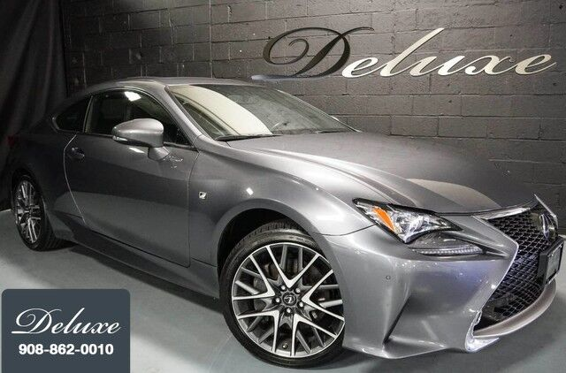 2015 Lexus RC 350 AWD Coupe, F Sport Package, Navigation System, Rear-View Camera, F Sport Leather Interior, Heated/Ventilated Sport Seats, Power Sunroof, Sport Suspension, 19-Inch F Sport Alloy Wheels, Linden NJ