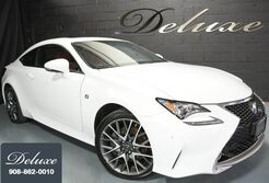 Lexus RC 350 AWD Coupe, F Sport Package, Navigation System, Rear-View Camera, Ventilated Leather Sport Seats, Power Sunroof, Sport Suspension, 19-Inch F Sport Alloy Wheels, 2015