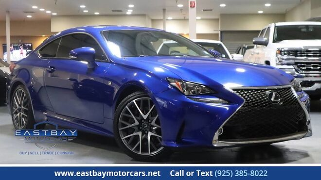 2015_Lexus_RC 350_F Sport package_ San Ramon CA