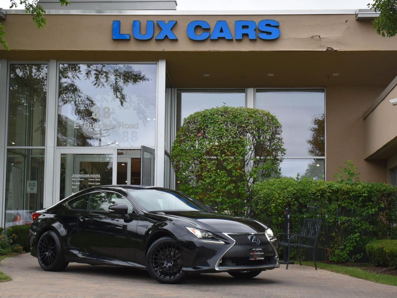 2015 Lexus RC 350 Luxury PKG Nav AWD MSRP $53,365 Buffalo Grove IL