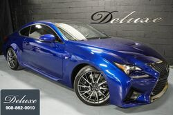 Lexus RC F Coupe, Performance Package, 467 HP V-8 Engine, Navigation System, Rear-View Camera, Mark Levinson Sound, 19-Inch Alloy Wheels, 2015