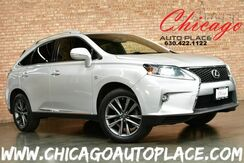 2015_Lexus_RX 350_AWD F-Sport - 3.5L 6-CYL DUAL VVT-I ENGINE ALL WHEEL DRIVE NAVIGATION BACKUP CAMERA KEYLESS GO BLACK LEATHER HEATED/COOLED SEATS SUNROOF BLINDSPOT DETECTION POWER LIFTGATE XENONS_ Bensenville IL