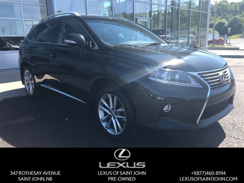 Lexus Saint John >> 2015 Lexus RX 350 TOURING PACKAGE Saint John NB 25208926
