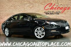 2015_Lincoln_MKZ_2.0H Hybrid - 2.0L IVCT ATKINSON I-4 ENGINE FRONT WHEEL DRIVE BACKUP CAMERA BLACK LEATHER HEATED SEATS KEYLESS GO MICROSOFT SYNC BLUETOOTH DUAL ZONE CLIMATE WOOD GRAIN INTERIOR TRIM_ Bensenville IL