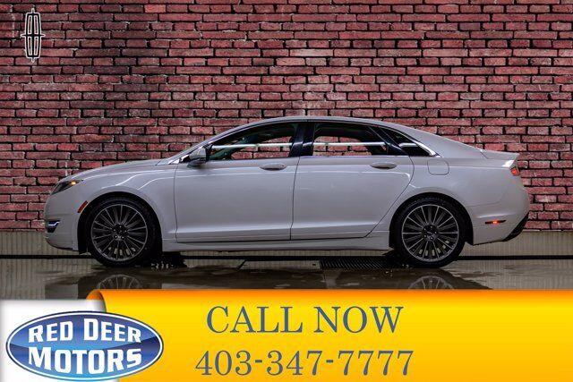 2015 Lincoln MKZ AWD Luxury Edition Leather Roof Nav Red Deer AB
