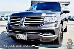 2015_Lincoln_Navigator_Reserve / AWD / Ecoboost / Heated Front & Rear Leather Seats / Auto Start / Sunroof / Navigation / THX Speakers / Bluetooth / Back-Up Camera / Power Fold 3rd Row / Seats 7 / Luggage Rack / Tow Pkg_ Anchorage AK